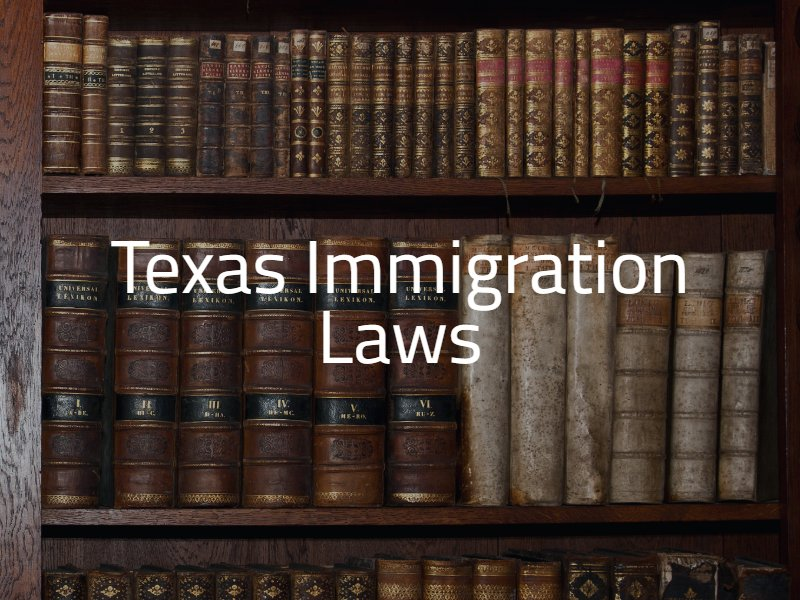 Texas Immigration Laws