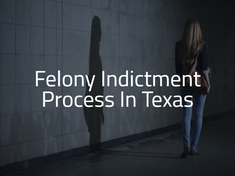 Felony Indictment Process in Texas