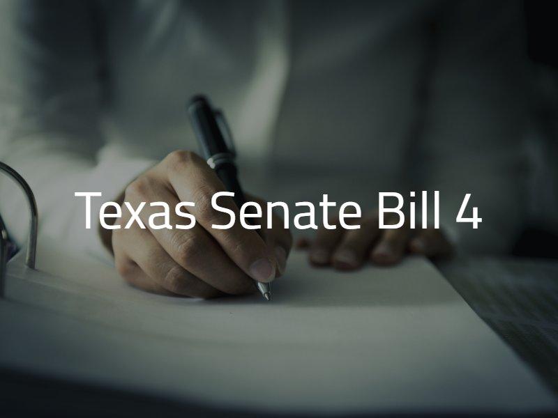 Texas Senate Bill 4