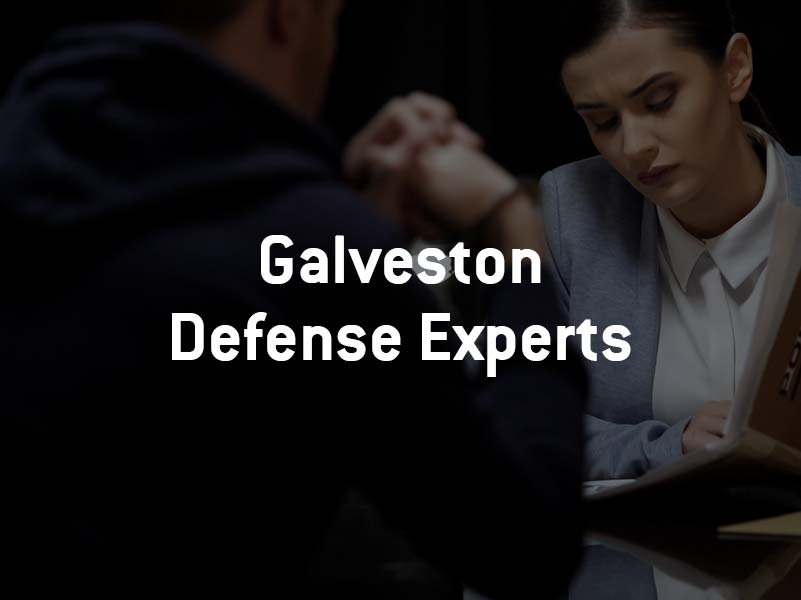 Defense Lawyer and Client