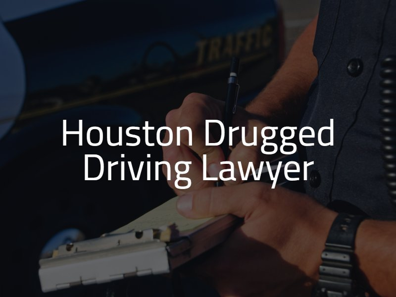 Drugged Driving Lawyer