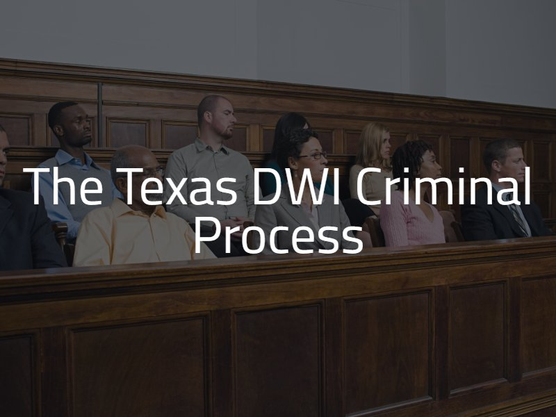 DWI Court in Texas